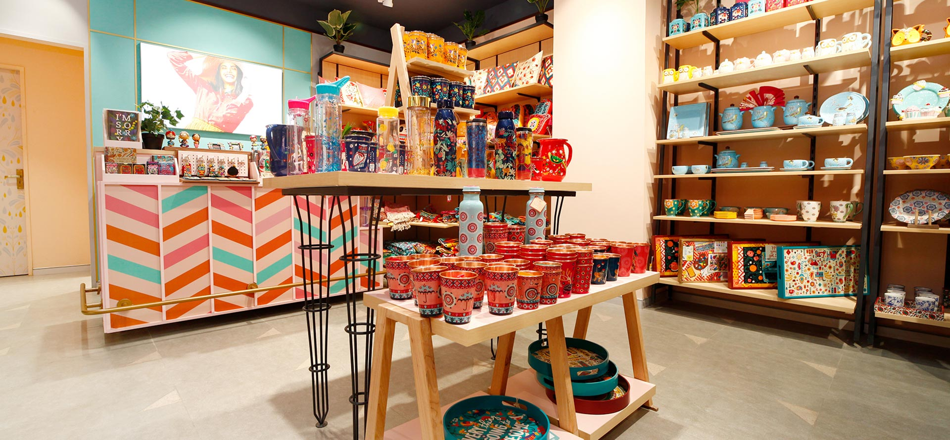 Home Decor Store And Shop In Ghaziabad Miniso Tune Home Shyan Home Pacific Mall